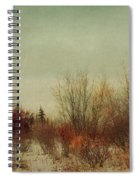 Signs Of Winter Spiral Notebook