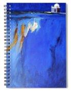 Silence Night Spiral Notebook