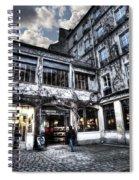 Silence Of Marais Spiral Notebook