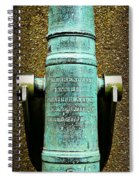 Silenced -- Surrendered British Cannon Spiral Notebook