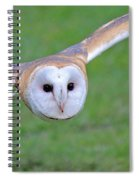 Silent Approach Spiral Notebook