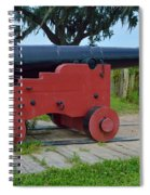 Silent Cannon Spiral Notebook