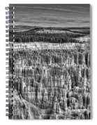Silent City Spiral Notebook
