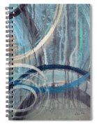 Silent Drizzle II Spiral Notebook
