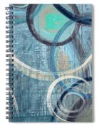 Silent Drizzle Spiral Notebook