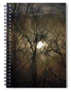 Silent Foggy Sunrise Spiral Notebook