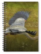 Silent Grace Spiral Notebook