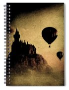 Silent Journey  Spiral Notebook
