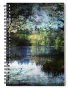 Silent Lake Ludington Michigan Spiral Notebook