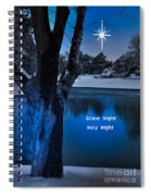 Silent Night Spiral Notebook