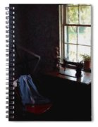 Silent Sewing Room Spiral Notebook