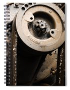 Silent Spinning Spiral Notebook