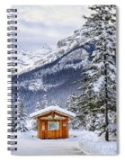 Silent Winter Spiral Notebook