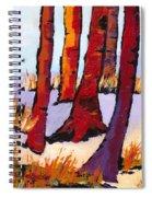 Silent Woods Spiral Notebook