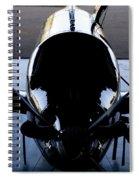 Silhouette Hanger Spiral Notebook