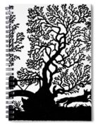 Silhouette Hunting Spiral Notebook