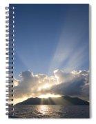 Silhouette Island Spiral Notebook