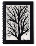 Silhouette Maple Spiral Notebook