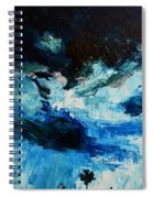 Silhouette Of Nature II Spiral Notebook