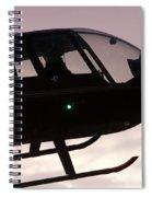 Silhouette Raven II Spiral Notebook