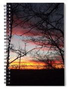 Silhouetted Spiral Notebook