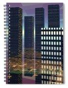 Silicon City Spiral Notebook