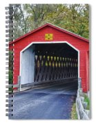 Silk Bridge 8258 Spiral Notebook