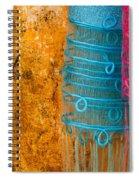 Silk Fabric 05 Spiral Notebook