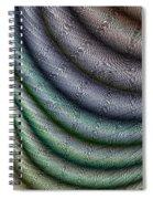 Silk Fabric Spiral Notebook