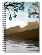 Silkscreen Spiral Notebook