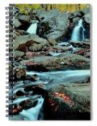 Silky Water 3 Spiral Notebook
