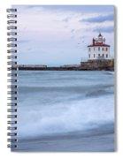 Silky Waves Spiral Notebook