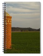 Silo Old Brick 3 Spiral Notebook