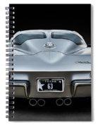 Silver '63 Spiral Notebook