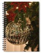 Silver Ball Spiral Notebook