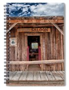 Silver Canyon Saloon Spiral Notebook