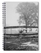 Silver Dart - Aeroplane At Hammondsport 1908 Spiral Notebook