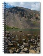 Silver Dollar Lake Colorado Spiral Notebook