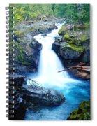 Silver Falls  Spiral Notebook