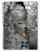 Silver Flight Spiral Notebook