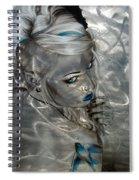 Silver Flight Spiral Notebook