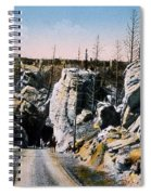 Silver Gate Road Yellowstone Np Spiral Notebook