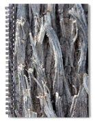 Silver Heavy Metal  Spiral Notebook