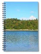 Silver Sands Of Morar Panorama Spiral Notebook