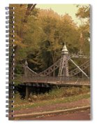Silver Suspension Bridge Spiral Notebook
