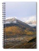 Silverton Colorado Spiral Notebook