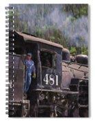 Silverton Engine 481 Spiral Notebook