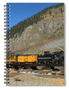 Silverton Train Spiral Notebook