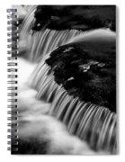 Silvery Falls Spiral Notebook