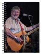 Simon Nicol Of Britian's Fairport Convention Spiral Notebook